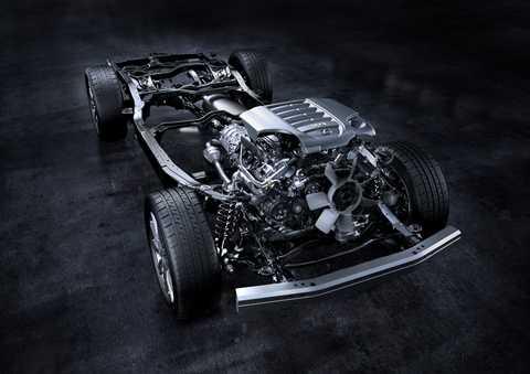 Động cơ 5,7L V8 lớn nhất trong tất cả các dòng xe của Lexus