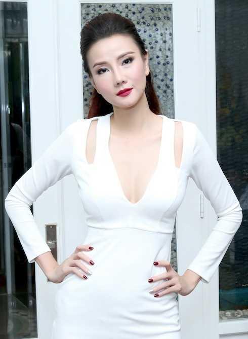 Dung mạo mới của Dương Yến Ngọc.