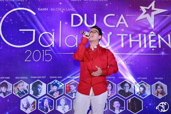 Á quân The Voice 2015 Hoàng Dũng.
