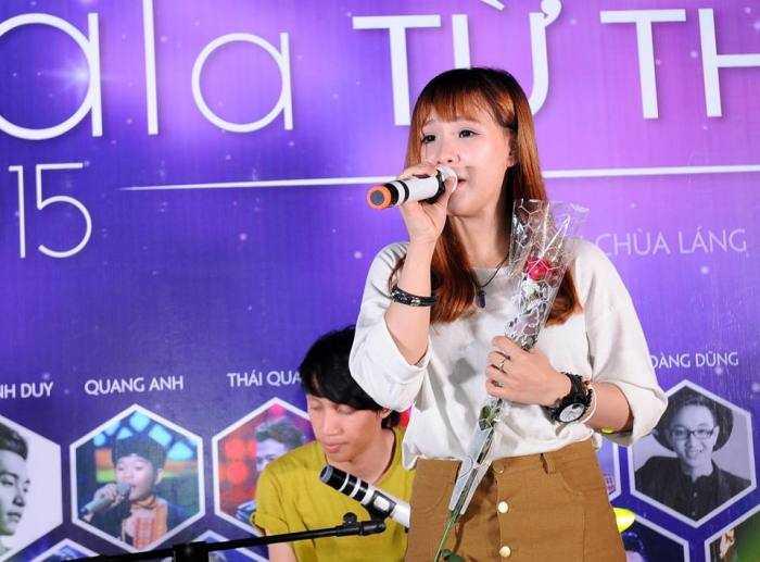 Yến Taoo trình diễn hết mình trong đêm nhạc từ thiện