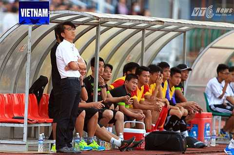 HLV Miura khẳng định, tinh thần cầu thủ Việt Nam không yếu (Ảnh: Quang Minh)