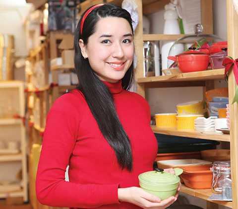 Đào Chi Anh, bà chủ trẻ của KAfe Group vừa nhận được khoản vốn 5,5 triệu USD từ quỹ đầu tư ngoại