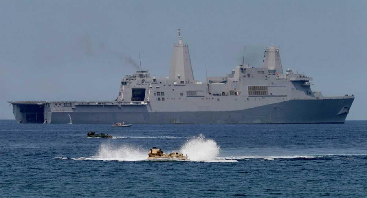 Tàu đổ bộ Hải quân Mỹ