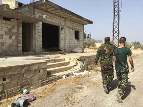 Một thị trấn tại Syria được giải phóng sau khi Nga tiến hành không kích IS. Nguồn: Sputniks