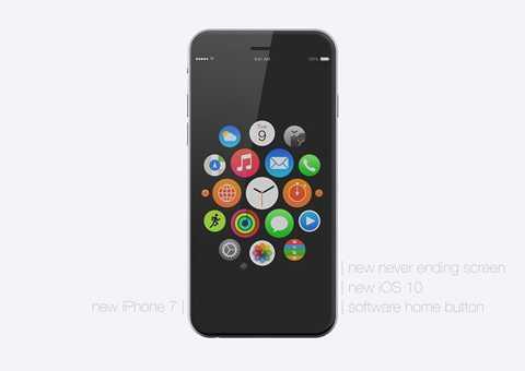 Concept trên là có cơ sở khi nhà phân tích Gene Munster thuộc Piper Jaffray dự đoán rằng, công ty công nghệ Mỹ dự định loại phím vật lý khỏi thiết kế của iPhone 7 và tỷ lệ này là 50%. Lý do ông cho rằng smartphone đời mới của Apple không cần nút Home là bởi màn hình 3D Touch mà hãng áp dụng từ iPhone 6s có thể đảm nhiệm chức năng tương đương.
