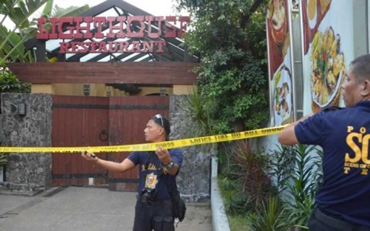Cảnh sát Philippines phong tỏa hiện trường vụ tấn công
