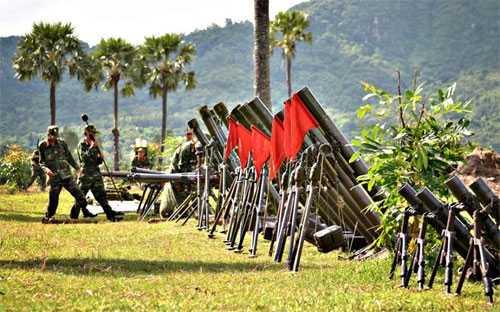 Tham gia bủôi diễn tập, các đơn vị đều đảm bảo an toàn tuyệt đối về người và vũ khí trang bị kỹ thuật.