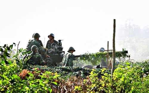 Tham gia diễn tập lần này, Lữ đoàn Pháo phòng không 226 (Quân khu 9) được đánh giá đạt hiệu suất chiến đấu cao, 7 mục tiêu giả định bị tiêu diệt tương ứng với 7 loạt đạn.