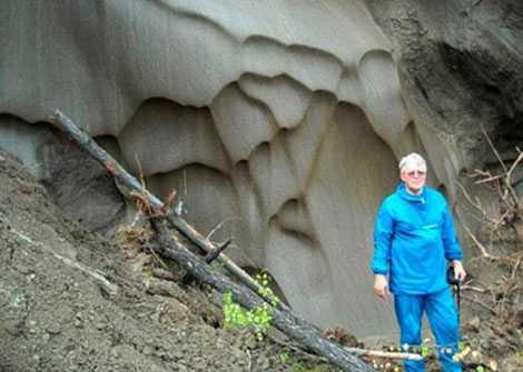 Tiến sĩ Anatoli Brouchkov tại Mammoth Mountain.
