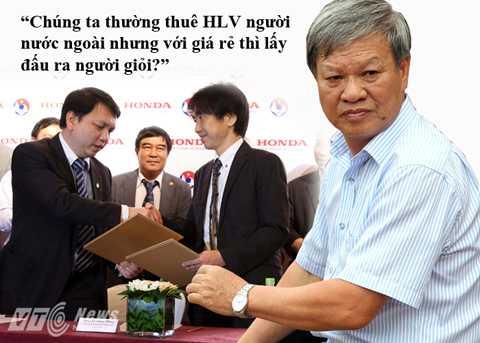 HLV Lê Thụy Hải sẵn sàng vào Hội đồng HLV Quốc gia nếu được giới trong nghề bầu (Ảnh: Quang Minh)