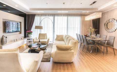 Không gian căn hộ tại Park Hill tối ưu hóa với 100% các phòng đều có mặt thoáng/khe sáng tiếp cận thiên nhiên
