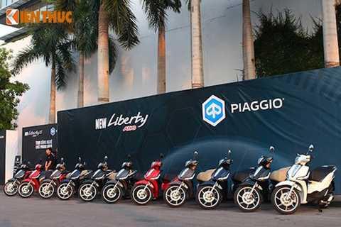 Chiếc Piaggio Liberty thế hệ mới vừa được giới thiệu vào đầu tháng 10.
