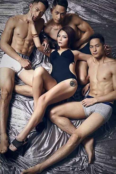 Anh em sinh 3 gốc Việt hợp tác cũng nghệ sỹ hài Tiểu Điềm Điềm