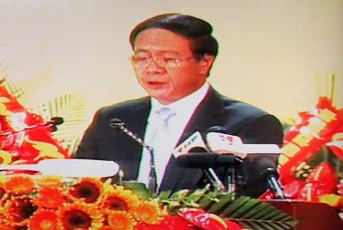 Ông Lê Văn Thành - Nguyên Phó Bí thư Thành ủy, Chủ tịch UBND TP Hải Phòng được bầu giữ chức Bí thư Thành ủy Hải Phòng nhiệm kỳ 2015 - 2020.