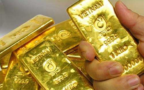 Giá vàng giảm 30.000 đồng/lượng