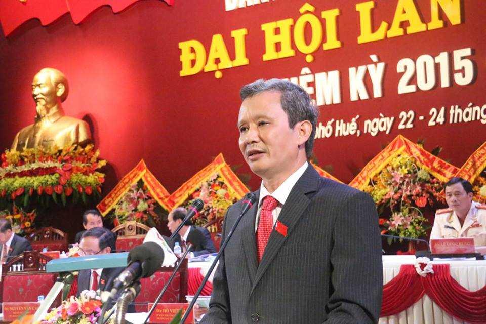 Ông Lê Trường Lưu tái đắc cử Bí thư Tỉnh ủy Thừa Thiên - Huế.