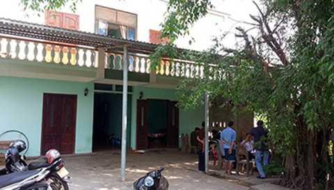 Nhà nghỉ Việt Anh nơi xảy ra vụ việc - Ảnh: CAND