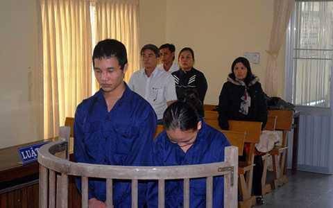 Hào Anh tại phiên tòa xét xử sơ thẩm ngày 23/10