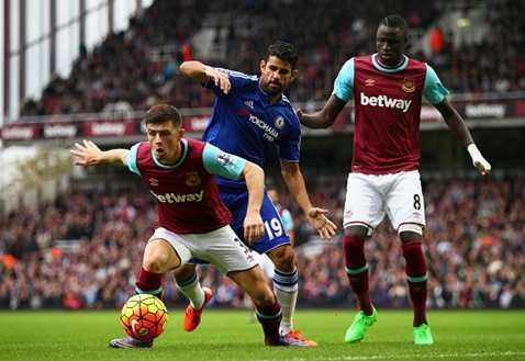 West Ham nhập cuộc rất tự tin trước Chelsea