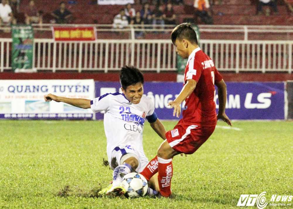 U21 An Giang là hiện tượng thú vị từ cách thi đấu cống hiến tới cư xử ngoài sân (Ảnh: Hoàng Tùng)