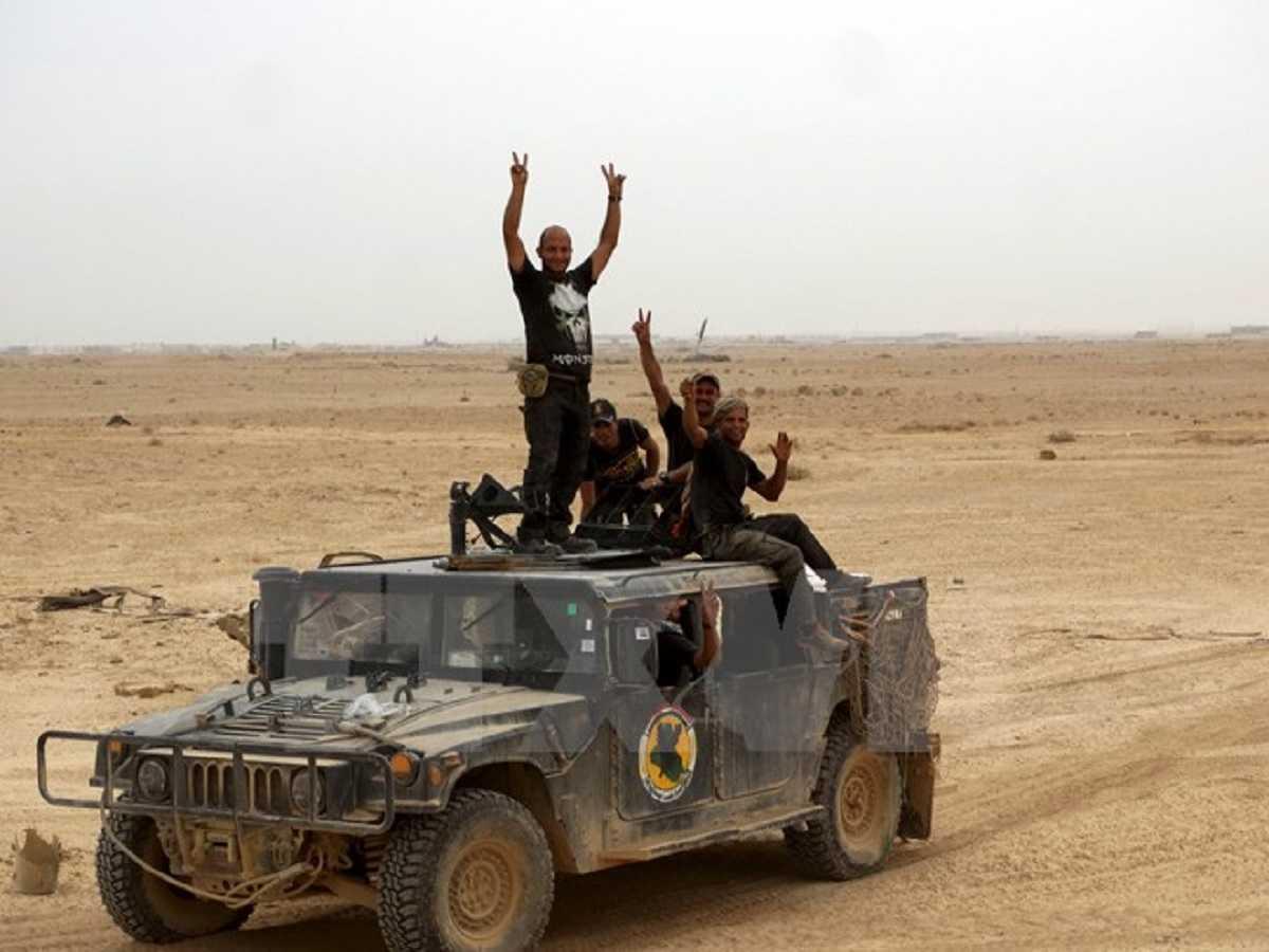 Lực lượng an ninh Iraq được triển khai chống IS tại Ramadi