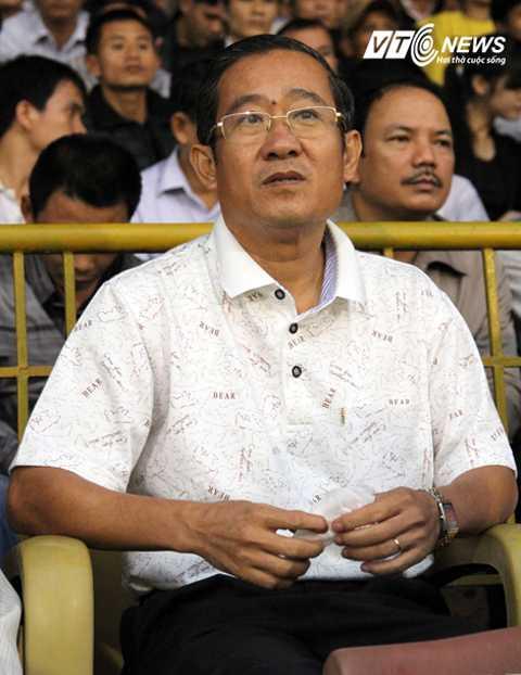 Ông Nguyễn Minh Sơn thôi chức Chủ tịch CLB B.Bình Dương (Ảnh: Quang Minh)