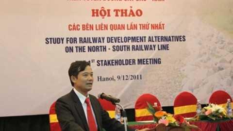 Bị cáo Trần Quốc Đông thời điểm giữ chức vụPhó tổng giám đốc Tổng công ty Đường sắt Việt Nam
