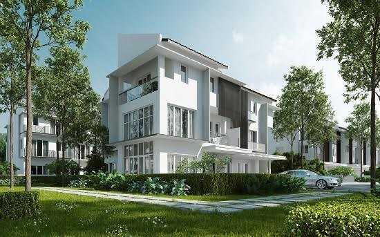 Không gian sống xanh ngập tràn tại ParkCity Hanoi