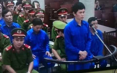 Bị cáo Phạm Hải Bằng trả lời thẩm vấn tại phiên tòa