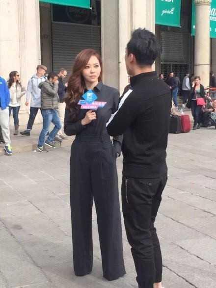 Trương Lương Dĩnh (Jane Zhang) tới Milan nhận giải từ MTV EMA.