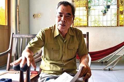 Đại tá Võ Hồng Thanh.    Ảnh: Báo Lao động