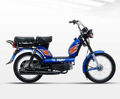Chiếc xe tay ga gắn động cơ 100cc do Ấn Độ tự sản xuất