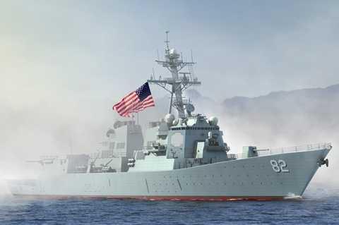 Chiến hạm Mỹ USS Lassen