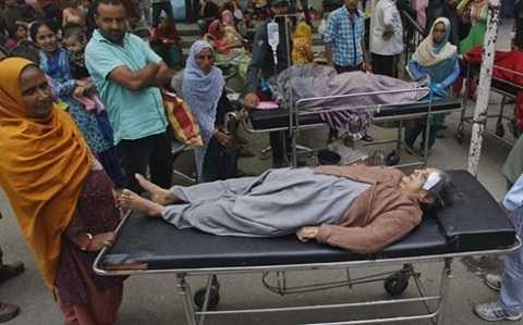 Các nạn nhân của vụ động đất