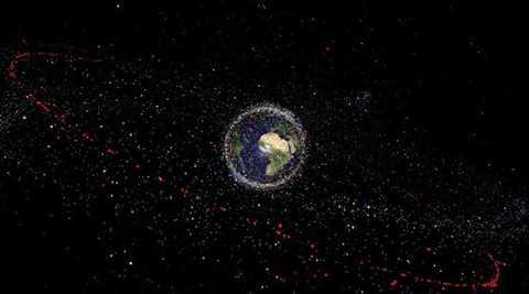 Vật thể kỳ quái từ vũ trụ nhìn qua ảnh vệ tinh