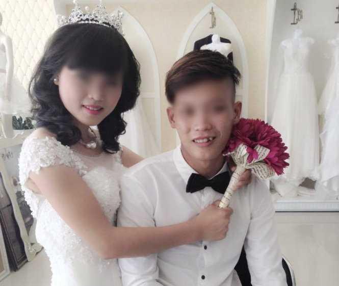 Ảnh đám cưới cô dâu 14 tuổi với con trai phó chủ tịch xã