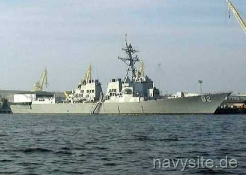 Chiến hạm Mỹ USS Lassen của Hải quân Mỹ