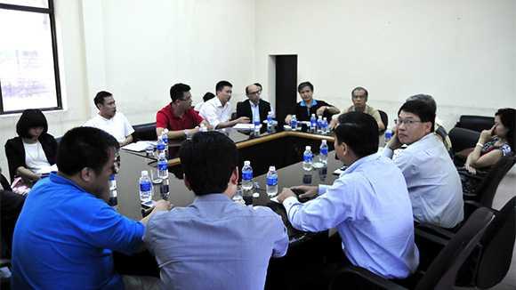 Đại diện các đài truyền hình Việt Nam họp bàn về bản quyền Ngoại hạng Anh 2013-2016