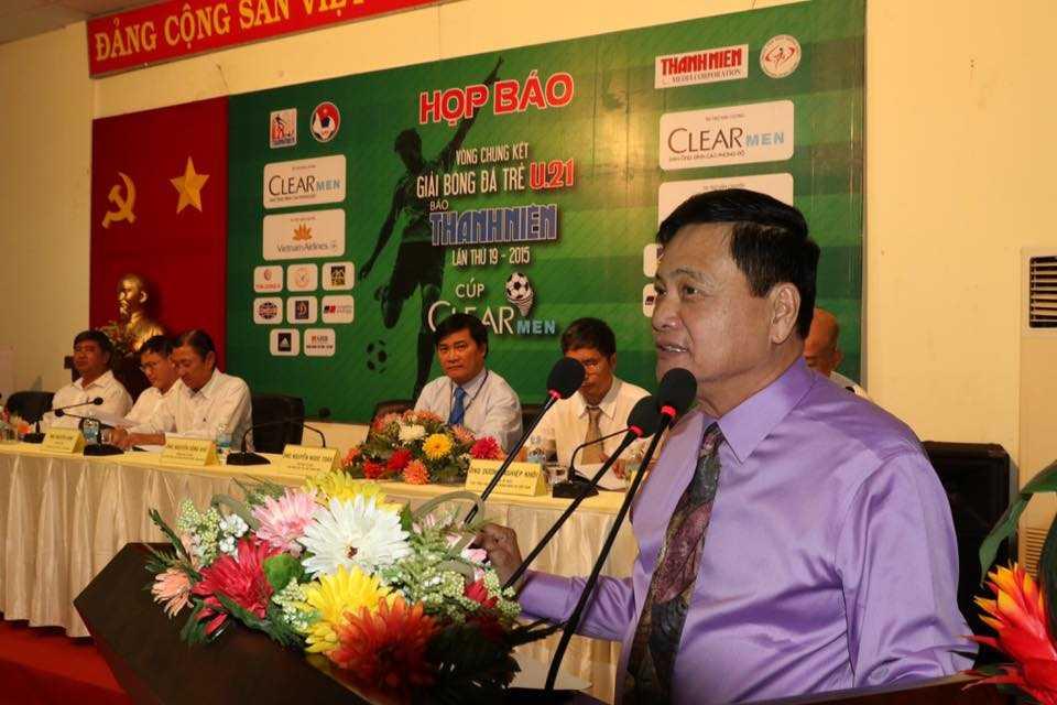 Phó chủ tịch HĐQT VPF Nguyễn Công Khế (Ảnh: Quang Minh)