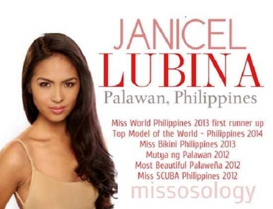 Janicel Lubina sở hữu bảng thành tích đáng nể.