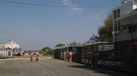 Binh lính Nga tại căn cứ không quân ở Syria