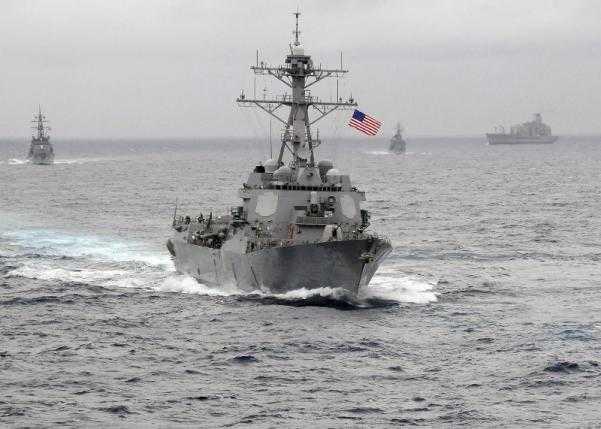 Chiến hạm USS Lassen, Hải quân Mỹ