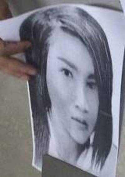 Hình ảnh phác họa nghi phạm đâm chết nam thanh niên