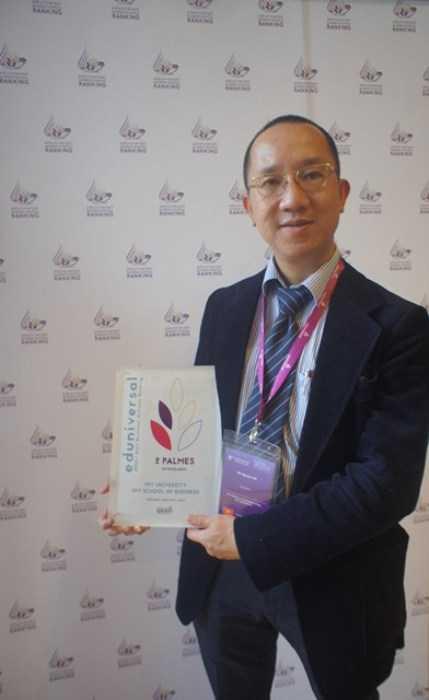 Ông Hà Nguyên, Phó Viện trưởng Viện Quản trị Kinh doanh FSB.