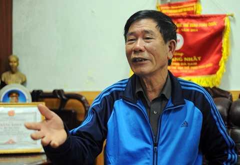 Giám đốc điều hành CLB SLNA Hồ Văn Chiêm.