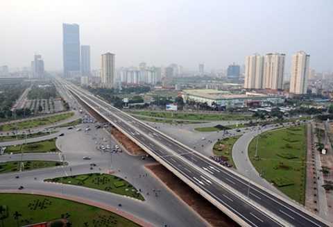 Hạ tầng mở rộng làm thay đổi bộ mặt đô thị thủ đô