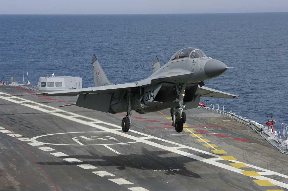Chiến cơ tàu sân bây MiG-29K của Nga