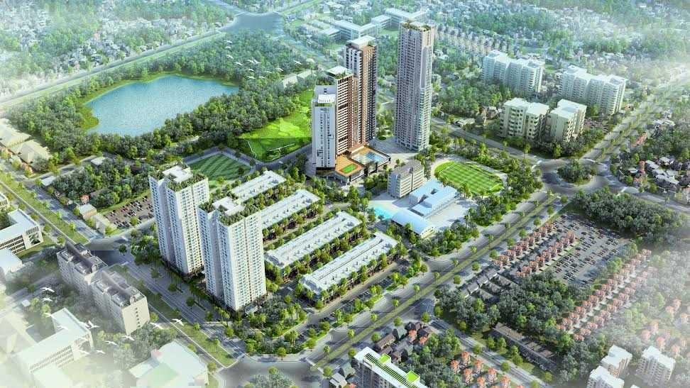 Phối cảnh Dự án Mon City với tổng mức đầu tư lên tới 5.600 tỷ đồng