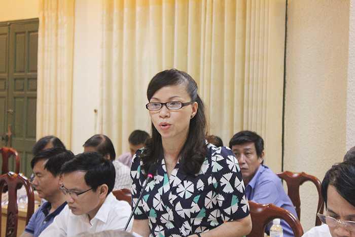 Bà Nguyễn Thị Kim Phụng cũng đưa ra nhận xét trong kỳ thi THPT quốc gia.