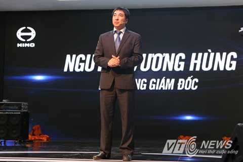 Ông Nguyễn Vương Hùng - Phó Tổng Giám đốc Công ty Hino Motors Việt Nam